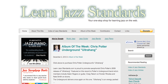 Learn Jazz Standards | Teen Jazz