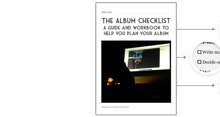The Album Checklist | Teen Jazz