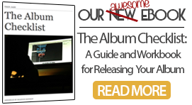 Plan your next album with The Album Checklist, a guide and workbook with free templates to help you organize your project.