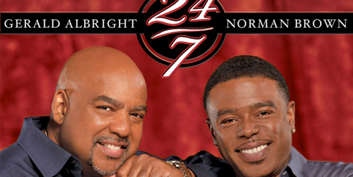 A review of 24/7 from Gerald Albright and Norman Brown | Teen Jazz