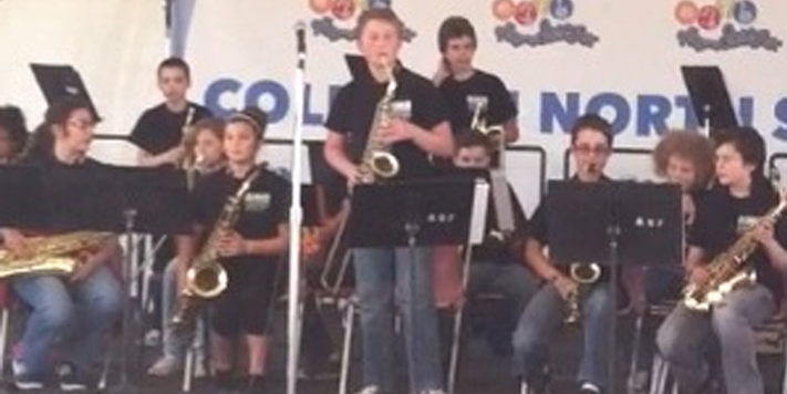 Saxophone Player Justin Shagena | Teen Jazz Artist