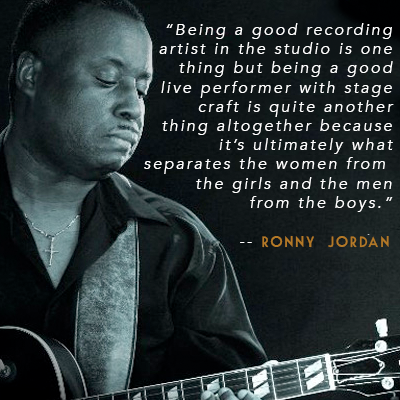 Interview with Teen Jazz Influence and Guitarist Ronny Jordan