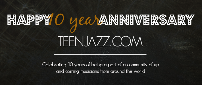 Celebrating 10 Years at Teen Jazz