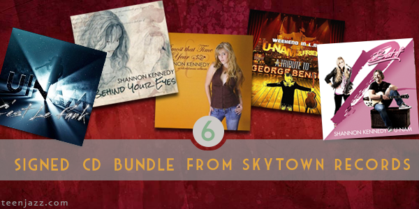 Get 4 CDs from the Skytown Records Catalog for $20 | Teen Jazz 12 Deals of Christmas