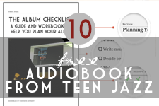 40% off the Album Checklist Audiobook bundle | Teen Jazz 12 Deals of Christmas