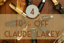 Get 10% Off Claude Lakey Products | Teen Jazz 12 Deals of Christmas