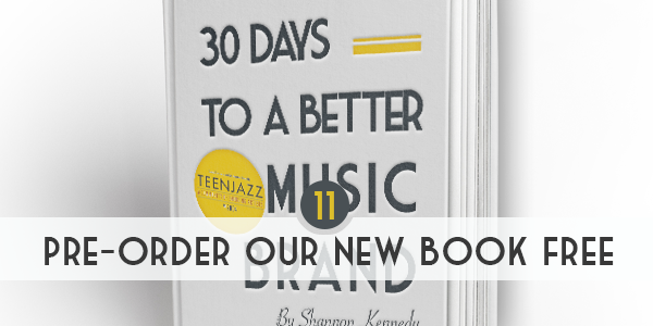 Pre-Order our new ebook Free | 12 Deals Teen Jazz