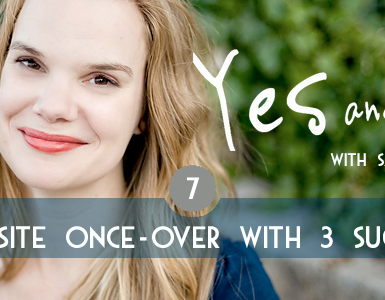 Free Website Once-Over with Sarah von Bargen | Teen Jazz 12 Deals Day 7