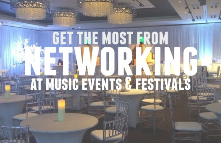 Get the most out of networking at music events | Teen Jazz