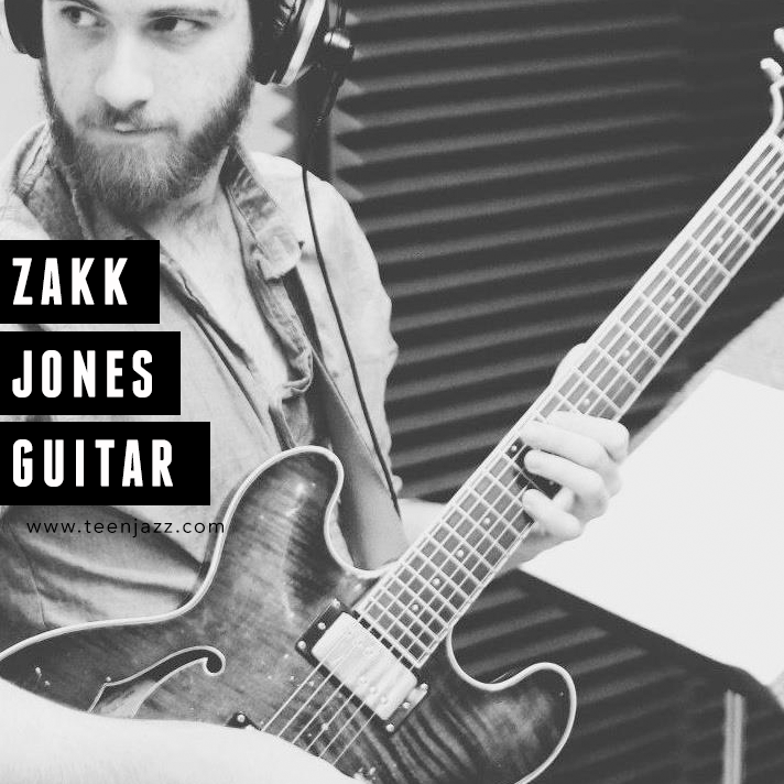 Guitarist Zakk Jones | Teen Jazz Artist