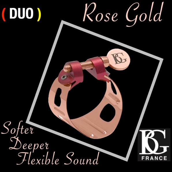 BG France's new Rose Gold Duo Ligature