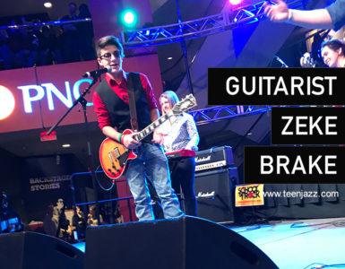 Guitarist Zeke Brake | Teen Jazz Artist